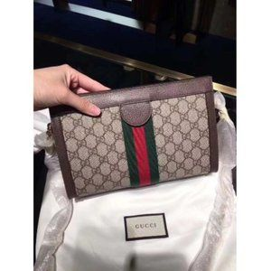 ma GUCCI Superme Ophldia Small Chain Stap Shoulde